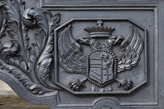 Double-headed eagle Stock Photo