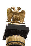Double-headed eagle. Moscow Kremlin. Russia Stock Photography
