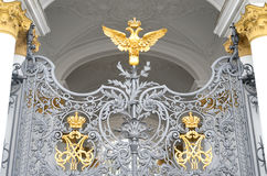 Double-headed eagle, St.Petersburg. Stock Photography
