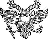 Double-headed eagle Royalty Free Stock Photography