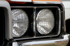 Double Headlights Royalty Free Stock Photography