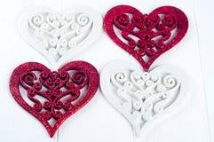 Double heart shape Royalty Free Stock Photo