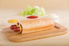 Double Hot Dog Stock Photos
