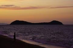 Double Island sunset Stock Image