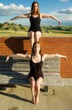 Double jointed Ballerinas Royalty Free Stock Photo