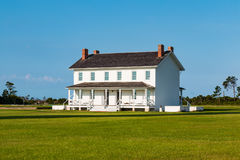 Double Keeper`s Quarters at Bodie Island Lighthouse Stock Photos