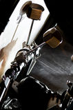 Double kick pedal Stock Photo