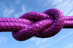 Double knot Royalty Free Stock Photo