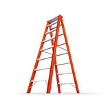 Double Ladder Illustration Stock Image