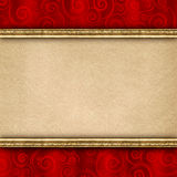 Double-layered background template royalty free stock photography