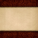 Double-layered background template stock illustration
