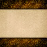 Double-layered background template royalty free illustration