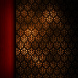 Double layered patterned background Stock Images