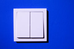 Double Light Switch Royalty Free Stock Image