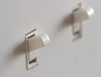 Double Light Switch Royalty Free Stock Photography
