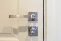 Double Lock Doorknob Stock Photos