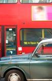 double london för busscabdäckare fotografering för bildbyråer