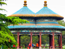 Double loop Wanshou Pavilion Stock Photos