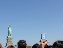 Double Miss Liberty Stock Image