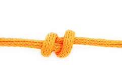 Double Overhand Stopper Knot Royalty Free Stock Images