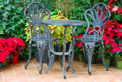 Double patio set Stock Photography