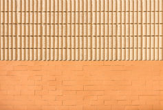 Double patterns on wall Royalty Free Stock Photos