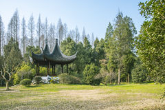 Double pavilion Royalty Free Stock Photography