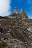 Double peak mountain Royalty Free Stock Image