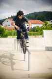 Double peg grind Stock Photography