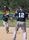 double play royaltyfria bilder