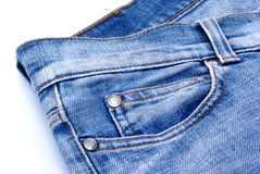 A double pocket. Royalty Free Stock Image