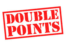 DOUBLE POINTS Royalty Free Stock Photography