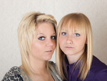 Double portrait Stock Photo