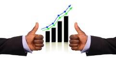 double profits success Стоковое фото RF