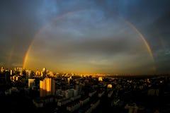 Double Rainbow Royalty Free Stock Photos