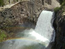 Double rainbow Stock Photography