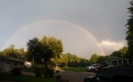 Double rainbow Royalty Free Stock Photo