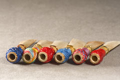 Double reed of bassoon Royalty Free Stock Images