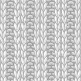 Double Ribbing Stitch. Royalty Free Stock Photos