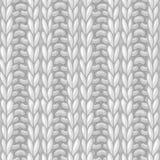 Double Ribbing Stitch. Royalty Free Stock Photos