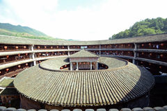Double ring tulou Stock Images