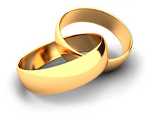 Double rings Stock Photos