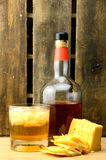 Double on the Rocks with Cheese Stock Photography