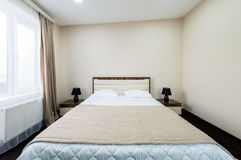 The double room in the hotel Stock Photography