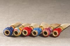 Double roseau de bassoon Images libres de droits