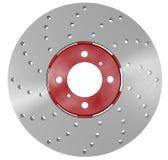 Double rotor de frein à disque Photographie stock libre de droits
