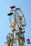 Double roue de Ferris Photographie stock libre de droits