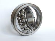 Double-row ball bearing. On white background Stock Image