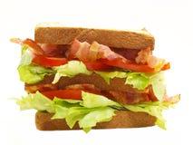 Double sandwich à blt Photo stock