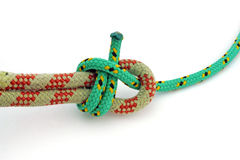 Double sheet bend. Strength and security Stock Photography